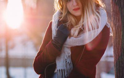 Ein Schal, unterschiedliche Looks