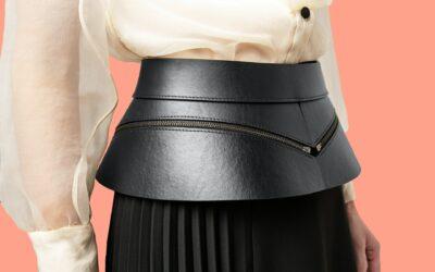 Ein Teil – unterschiedlicher Style: Der Lederrock