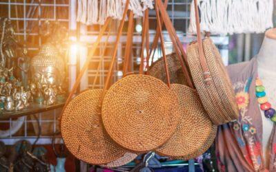 Ein Teil – unterschiedlicher Style: Korbtasche