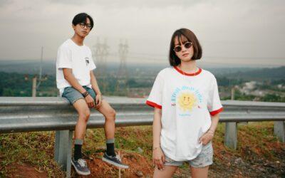 Ein Teil – unterschiedlicher Style: Oversized Shirt