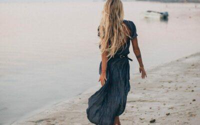 Ein Teil unterschiedlicher Style: Das Strandkleid