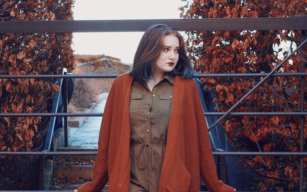 Ein Teil – unterschiedlicher Style: Cardigan